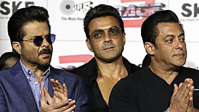 بابی دیول سلمان خان اور انیل کپور کے ساتھ