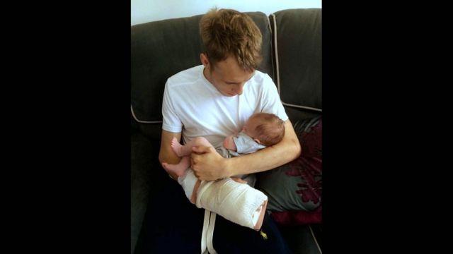 Алекс с дочерью Айрис