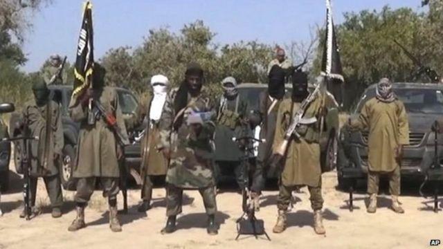 Wanamgambo wa Boko Haram nchini Nigeria