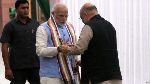 प्रधानमंत्री नरेंद्र मोदी, अमित शाह