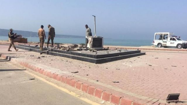 بانی پاکستان کا مجسمہ، گوادر