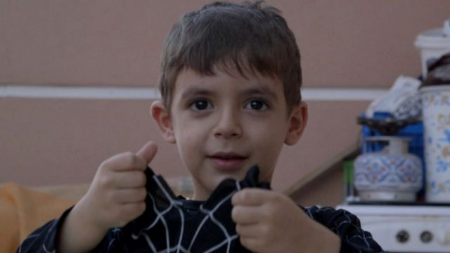 الطفل السوري نزار.