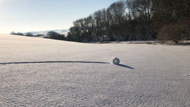 снежный рулон