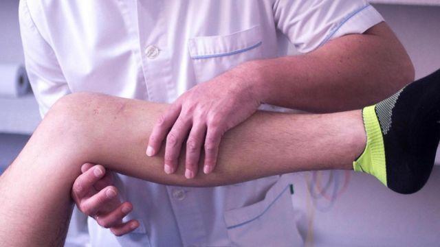 Нога пациента