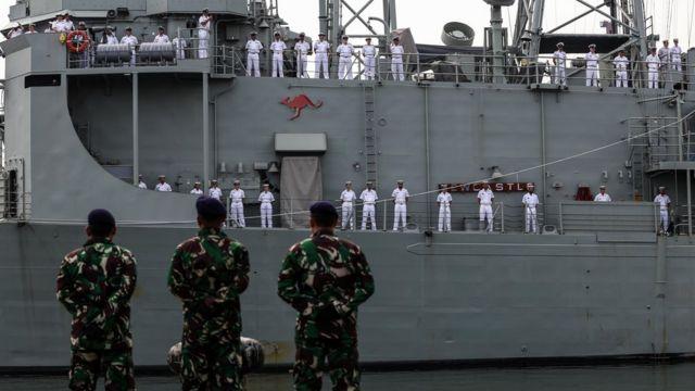 澳大利亚海军舰只