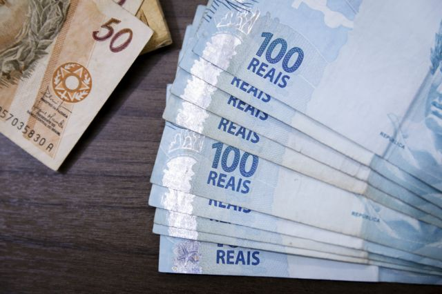 Billetes de la moneda brasileña, el real