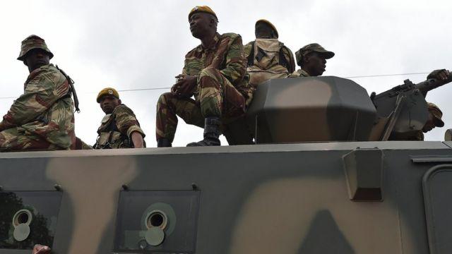 الجيش في زيمبابوي