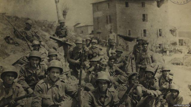 Soldados em campanha