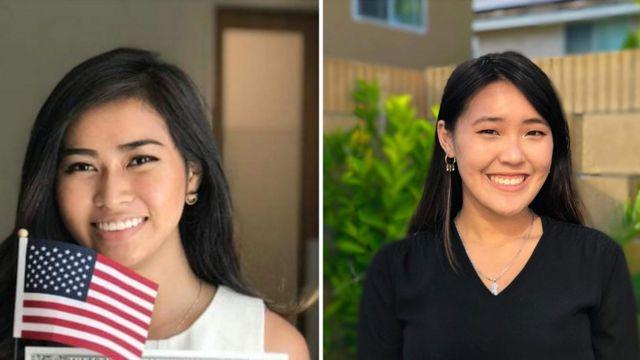 Cookie Dương (trái) và Jady Chan, đồng sáng lập viên của trang của nhóm The Interpreter