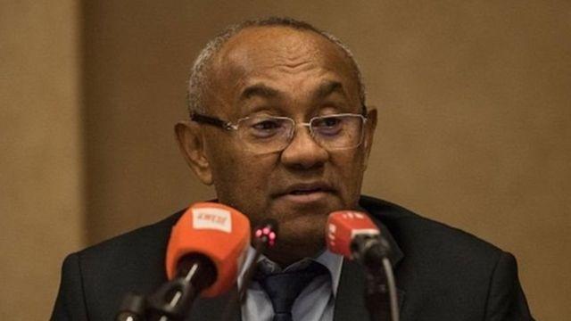 Ahmad, le président de la Confédération africaine de football
