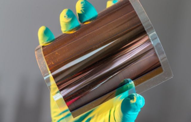 Organic solar cells set 'remarkable' energy record