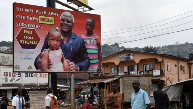 Icyapa cyerekana indwara ya Ebola u Freetown