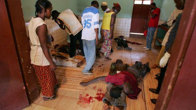 Répression policière en Guinée