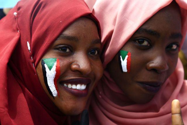 Wanawake raia wa Sudan