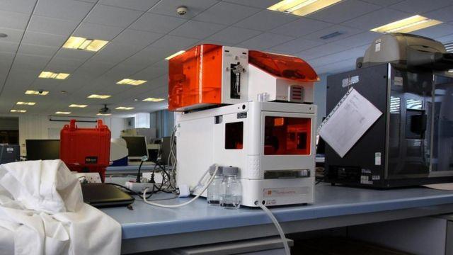 Máquinas en el laboratorio