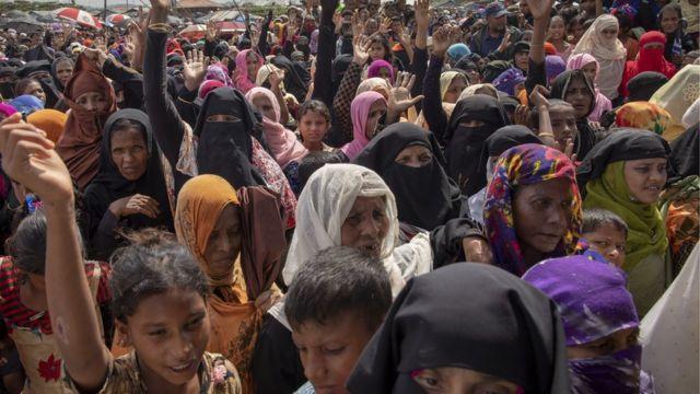 ရိုဟင်ဂျာတွေဒုက္ခသည် ၇ သိန်းကျော် ဘင်္ဂလားဒေ့ရှ်မှာခိုလှုံနေတယ်လို့ ကုလက ပြောပါတယ်။