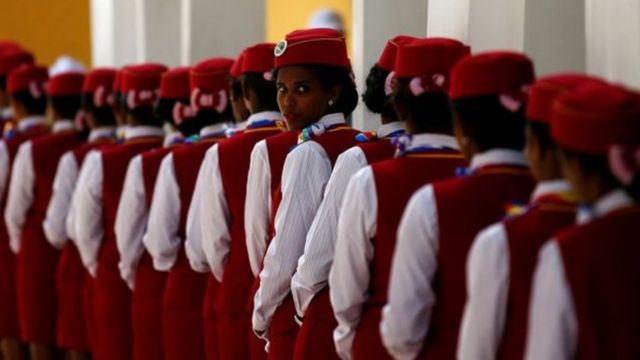 مضيفات خط السكك الحديد إثيوبيا - جيبوتي