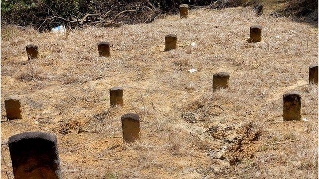 白色恐怖時期一部分遇害者的遺體被送到市郊的山頭上草草埋葬。