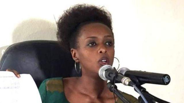 Diane Shima Rwigara waxay ka mid tahay mucaaradka Rwanda