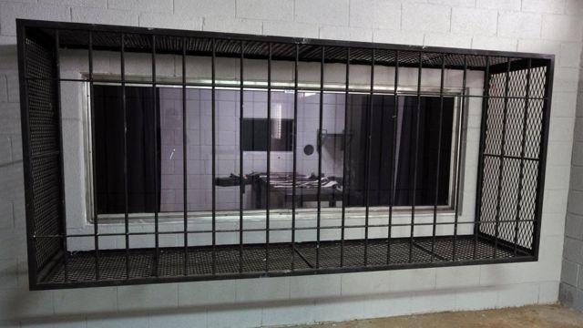 Imagen de una sala de ejecución en Guatemala