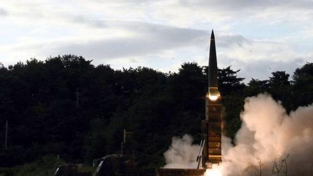 اجرت كوريا الجنوبية تجربة صاروخية جديدة ردا على تجربة كوريا الشمالية