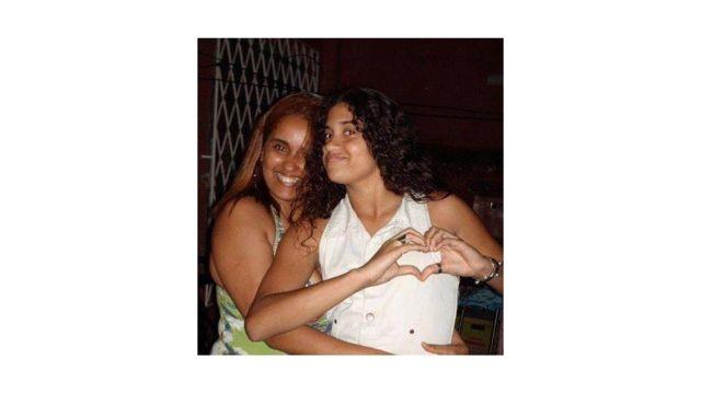 adriana e sua filha luiza