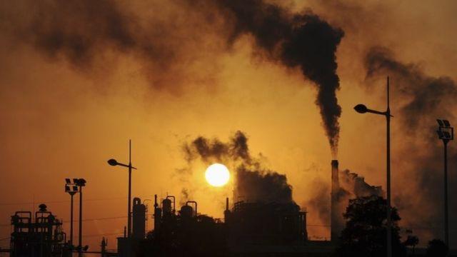 fábricas en Hebei, norte de China.