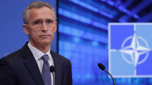 Генсек НАТО подзвонив Зеленському щодо російських військ та ескалації на Донбасі