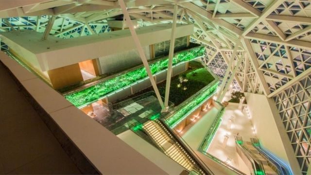 سعودی عرب میں اے ایم سی کا پہلا سینما گھر دارالحکومت ریاض میں شاہ عبد اللہ فائنیشل ڈسٹرکٹ میں کھولا جائے گا۔