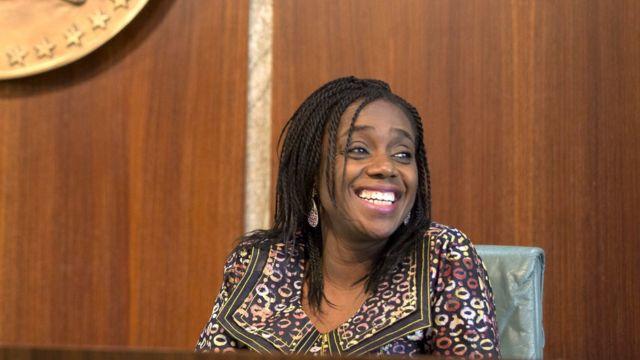 Nigeria Minister of Finance Kemi Adeosun