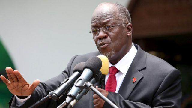 Prezida wa Tanzania John Pombe Magufuli agabisha ibihubu bibanyi