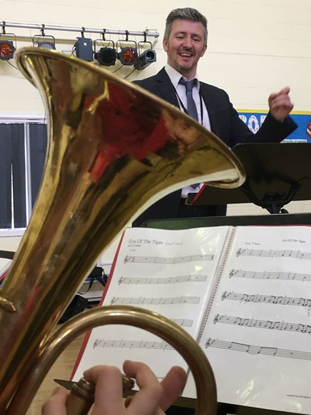 Top brass: Defying budget cuts to save the school band