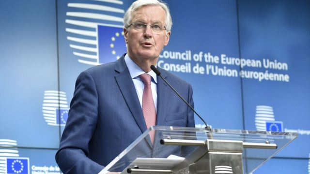 EU agrees Brexit 'transition' negotiation guidelines