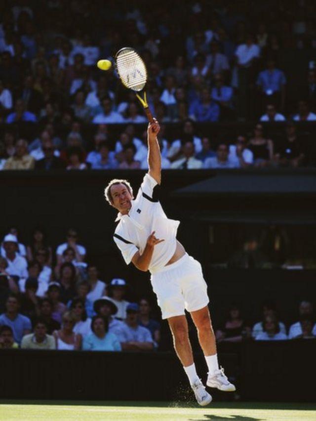 John McEnroe, en Wimbledon