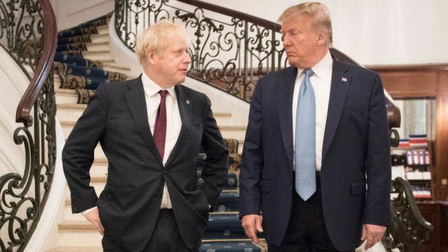 Джонсон впервые встретился с Трампом как премьер Британии в Биаррице