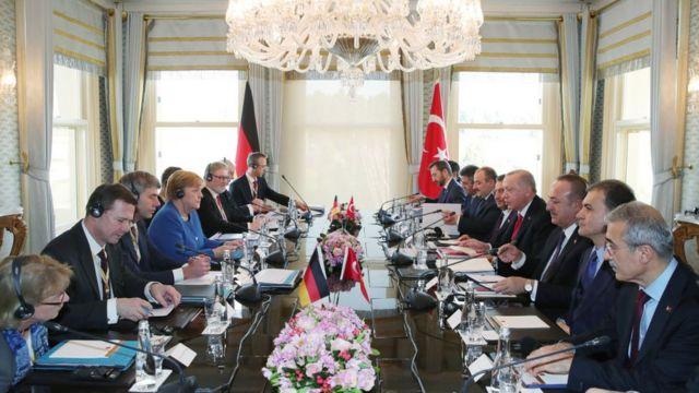 Almanya Türkiye heyetleri