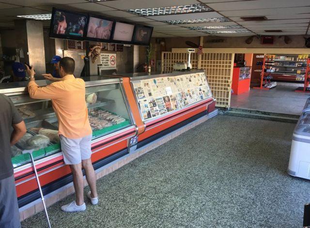 Carnicería vacía en Zulia. (Foto: Gustavo Ocando Alex)