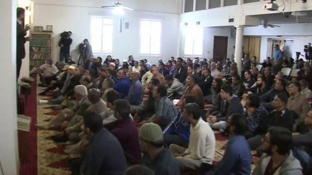 The mosque where the San Bernardino attackers had attended