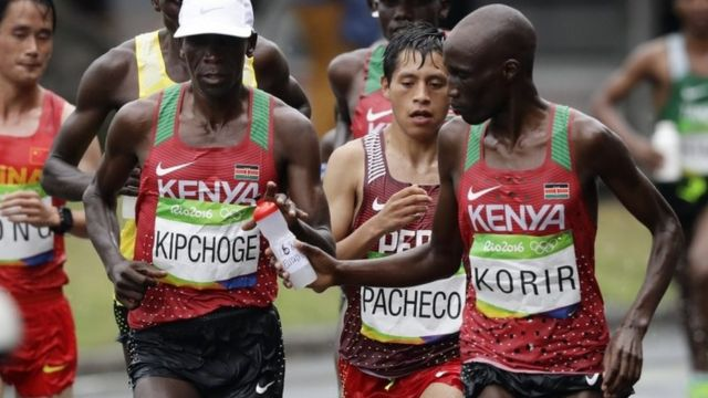 Wesley Korir muri marato