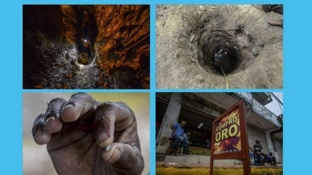 La minería ilegal es frecuente en la zona donde tuvieron lugar los hechos.