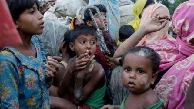 Kiyasi na baya-bayan nan ya nuna mutane 313,000 suka tsere daga myanmar zuwa kasar Bangladesh.