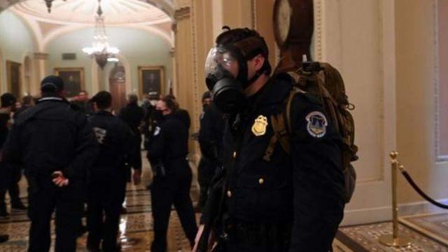 Di dalam Gedung Capitol