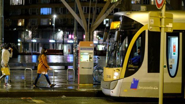 brüksel'de sokağa çıkma yasakları