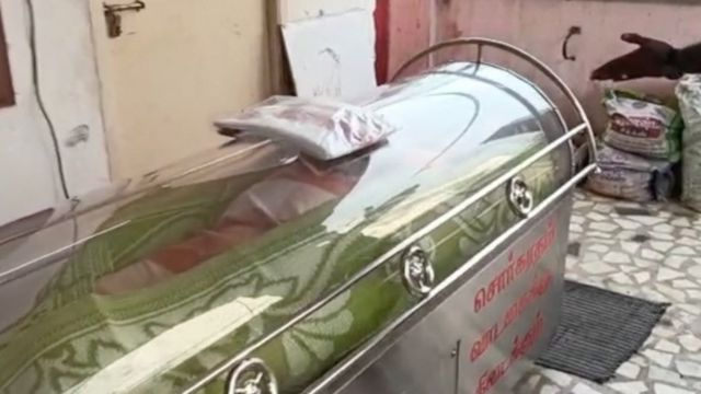 Indian man rescued from a freezer dies