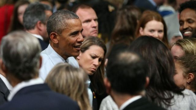 President Obama tells young to 'reject cynicism'