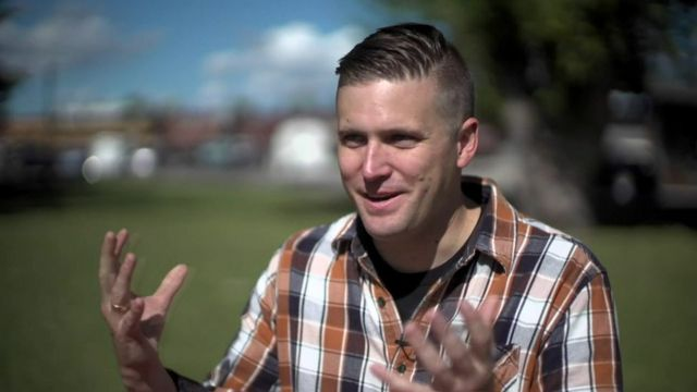 White supremacist Richard Spencer