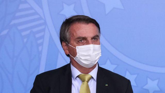 presidente em evento em Brasília