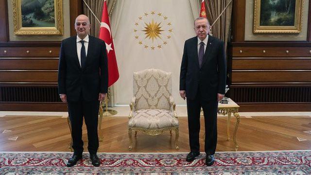 Dendias ve Erdoğan
