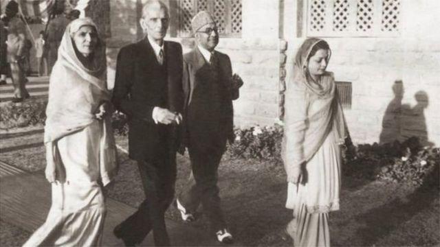 فاطمہ جناح، محمد علی جناح، رعنا لیاقت اور لیاقت علی خان