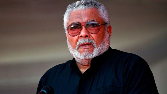 Former president of Ghana Jerry John Rawlings dies at age 73